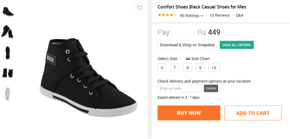 Our Shopping Experience With Snapdeal