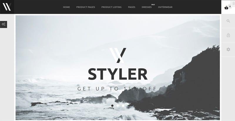 Styler (PrestaShop Theme)
