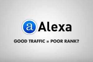 Good Traffic Poor Rank Alexa