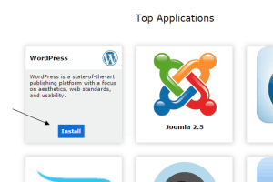 Install WordPress With cPanel