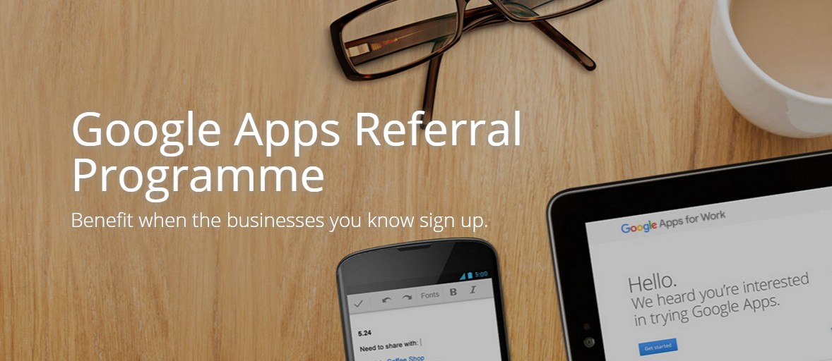 Google Apps referral program review