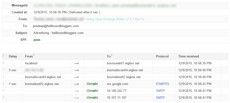 Google Apps Toolbox Analyze Header 6 Sec Delay