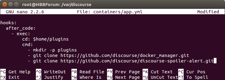 Install A Plugin On Discourse Via Terminal SSH