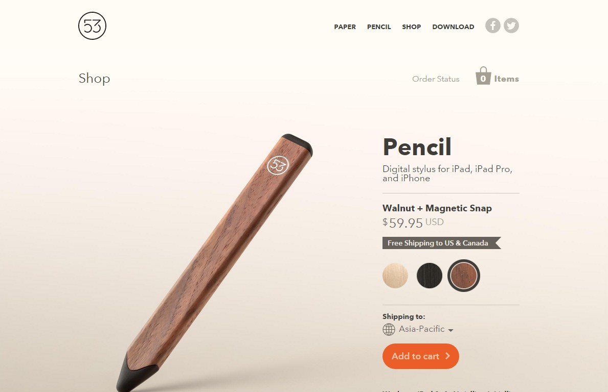 Shopify Pencil Example Site