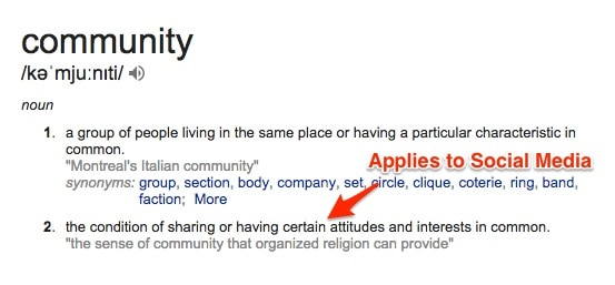 Community Meaning