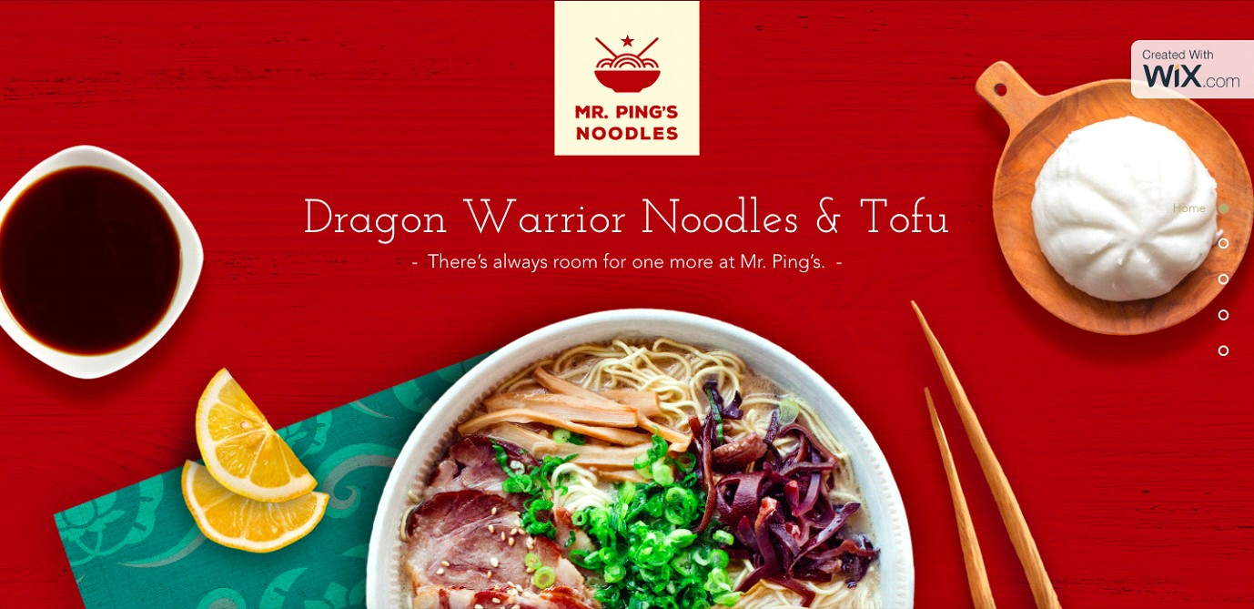 Dragon Warrior Noodles And Tofu