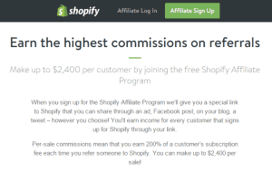 Shopify Affiliate Review