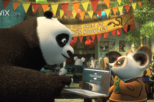 StartStunning Kung Fu Panda Po