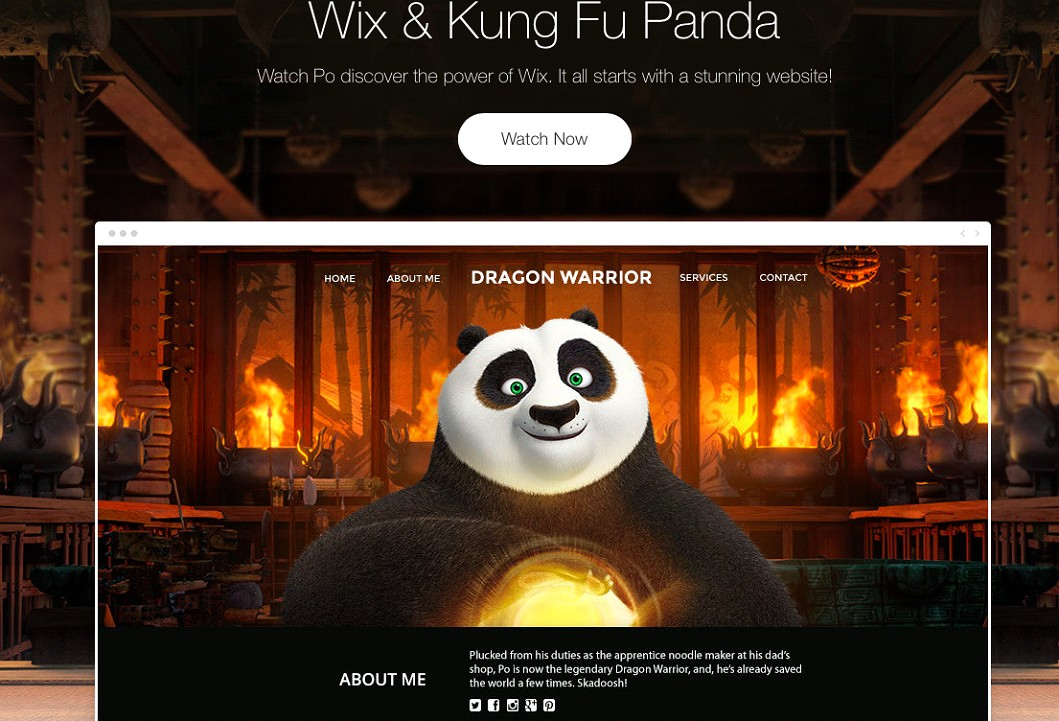 StartStunning Kung Fu Panda