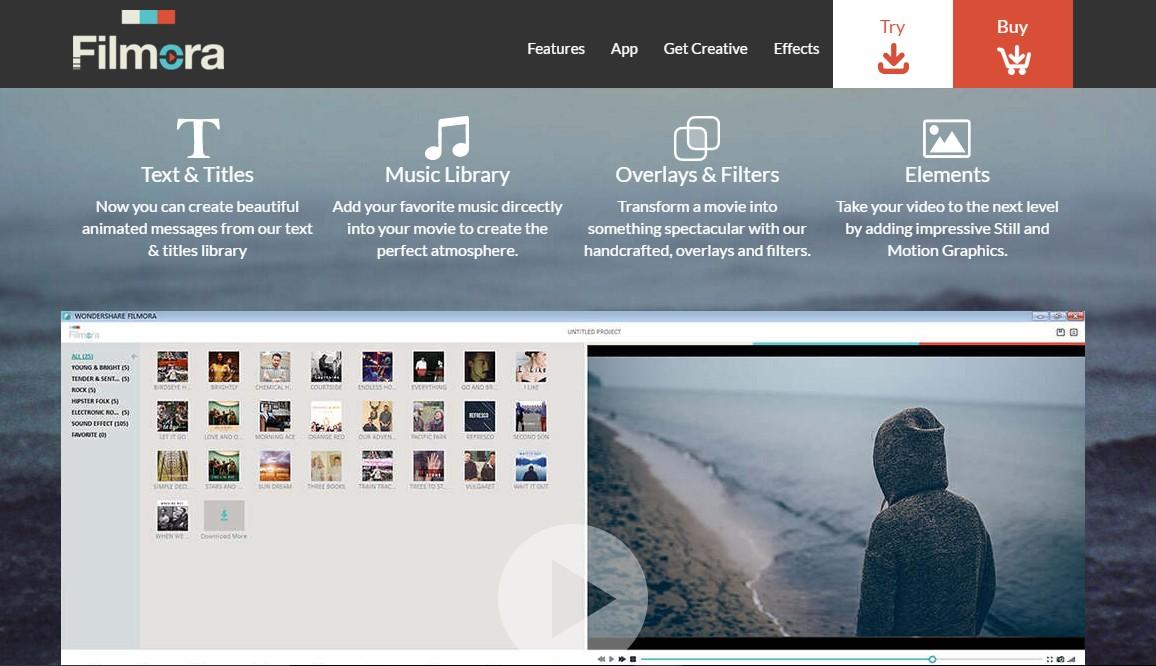 Filmora Features