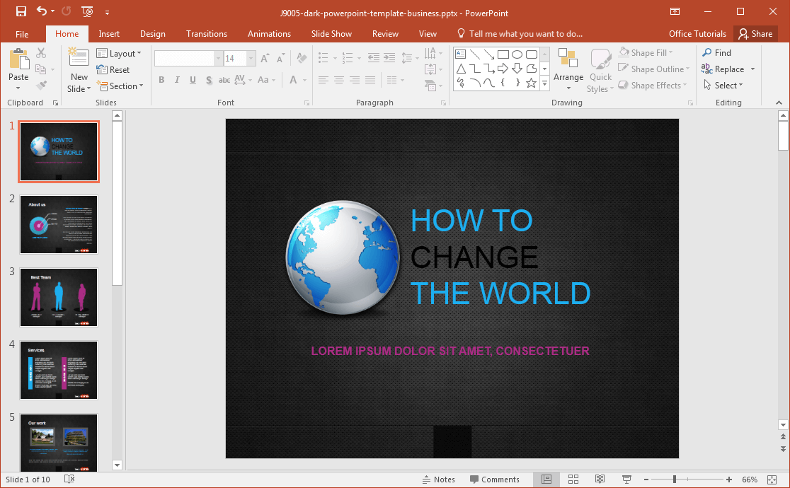 Slidehunter Powerpoint Templates