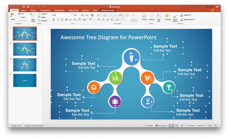 Editable Diagram Powerpoint