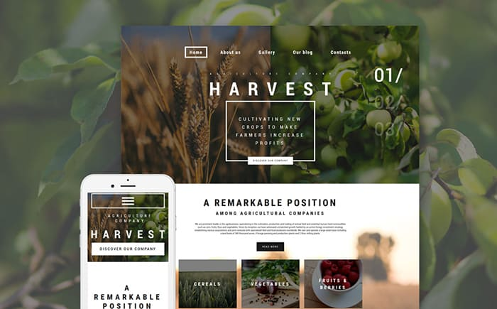 Agriculture WP Theme