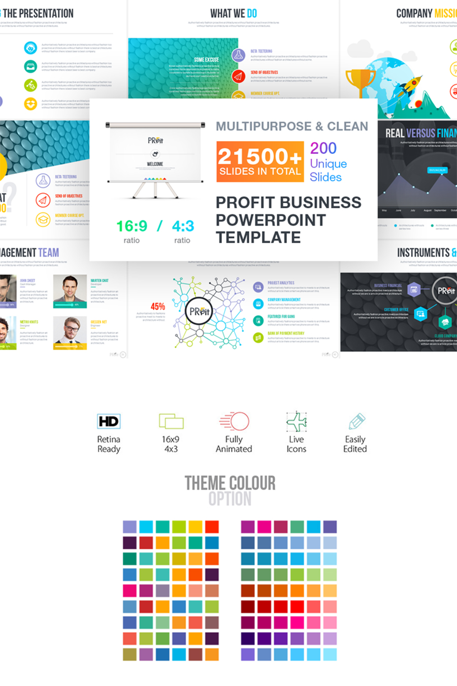 Profit Business PowerPoint Template