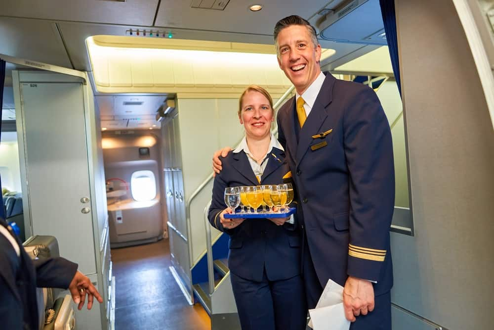 Lufthansa Crew Member