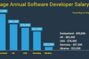 Average Annual Software Developer Salary