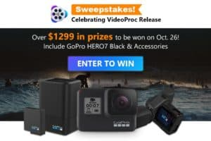 VideoProc GoPro Giveaway