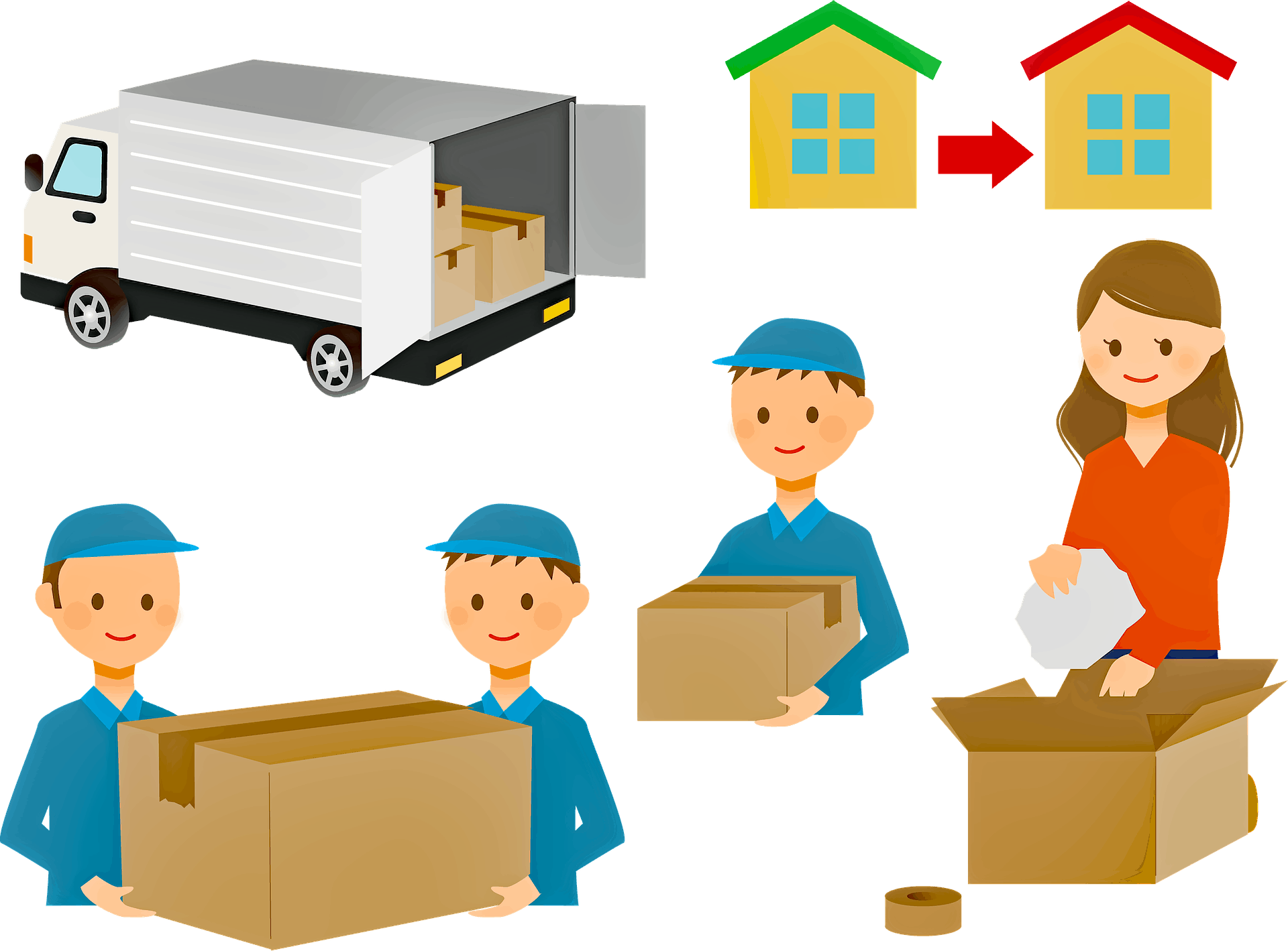 Nationwide Relocation Services Cross Country Moving Tips