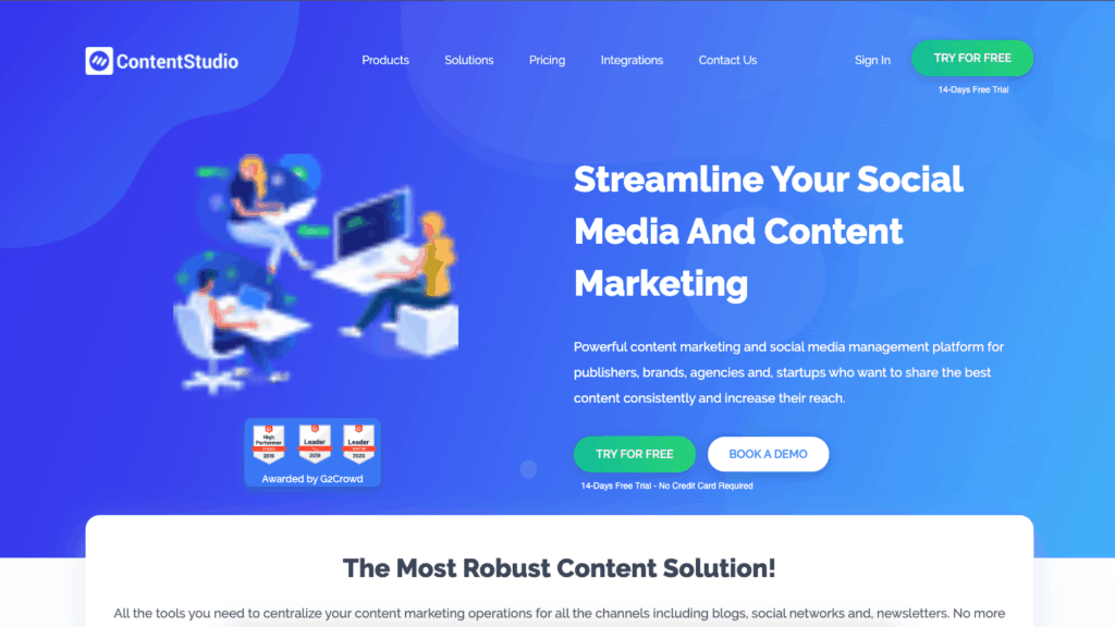 ContentStudio The Content Marketing King